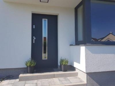 Realizace vchodové dveře do domu