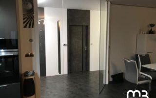 Dveře s horním panelem jsou perlou moderního interiéru